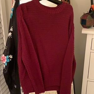 H&M sweater red
